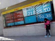 Bursa Saham Asia Menjelma Menjadi 'Lautan Merah'!