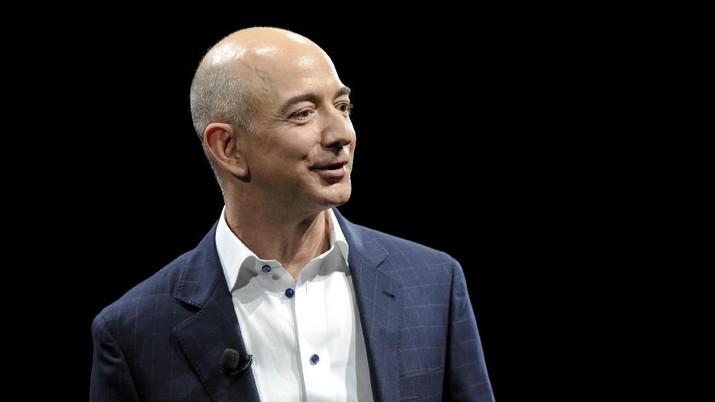 Bos Amazon Jadi Orang Terkaya Dunia, Hartanya Rp 1.854 T!