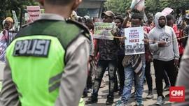 Diadang di Mabes TNI AD, Aktivis Papua Berorasi di Komnas HAM