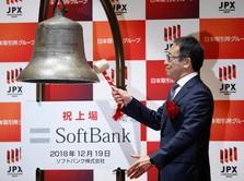 Saham SoftBank Anjlok saat Debut, Sesuatu yang Jarang Terjadi