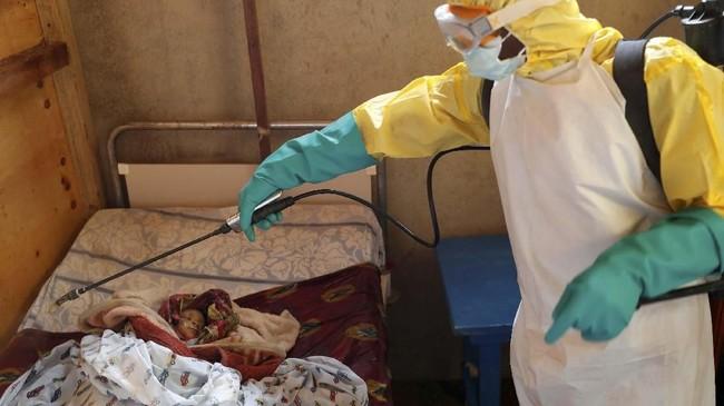 Wabah ini merupakan epidemi kesepuluh yang terjadi di Kongo sejak 1976 silam. (REUTERS/Goran Tomasevic)