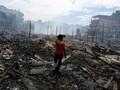 FOTO: Si Jago Merah Lalap 600 Rumah di Brasil