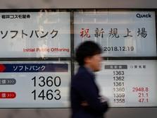 Pelemahan Yen Dorong Bursa Jepang ke Zona Hijau