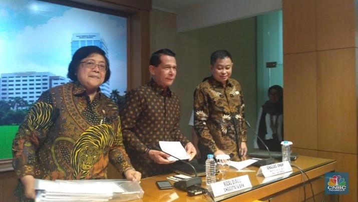 Tak Cuma Rini-Jonan, Siti & Sofyan Djalil Juga Ditegur Jokowi