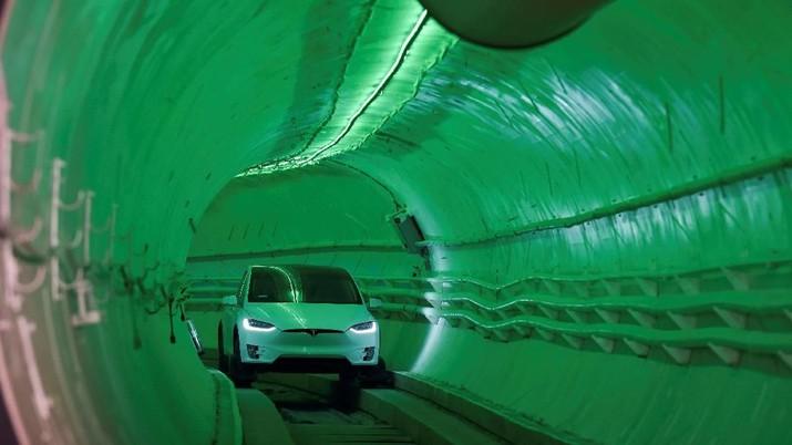 Elon Musk Gali Terowongan di Los Angeles demi Atasi Kemacetan