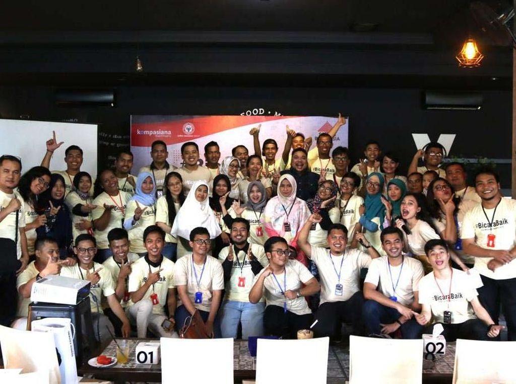 Sebanyak 50 pegiat media sosial dari Kota Medan dan sekitarnya mengikuti acara tersebut. Pool/Semen Indonesia.
