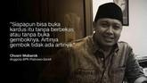 Anggota BPN Prabowo-Sandi Chusni Mubarok.