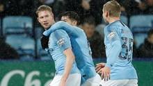Man City ke Semifinal Piala Liga Usai Kalahkan Leicester