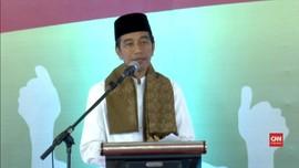 VIDEO: Jokowi Jawab Tudingan Anti-Ulama