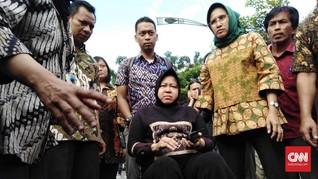 Risma Targetkan Perbaikan Jalan Raya Gubeng Rampung Sepekan