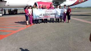 Batik Air Jakarta-Banyuwangi Terbang Perdana