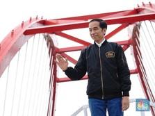 Jokowi Pamer di 2018 RI Punya Bandara-Jalan Tol- Kereta Baru