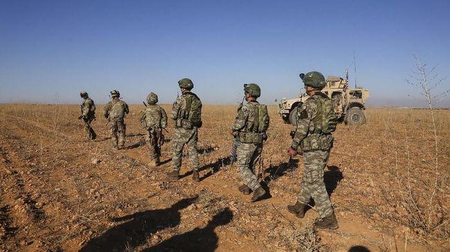 Militer AS Tandatangani Penarikan Pasukan dari Suriah