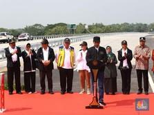 Saham WSKT & JSMR Anjlok Saat Jokowi Resmikan Tol Trans Jawa