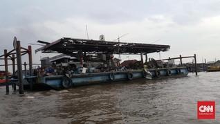 Kapal Meledak di Sungai Musi, 1 Hilang dan 7 Kritis