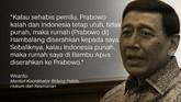 Celoteh Pemilu Riuh Kontroversi Prabowo soal Indonesia Punah
