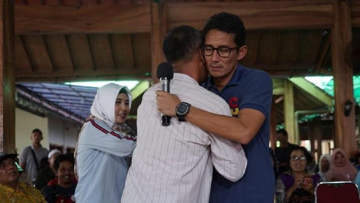 Sandi berjanji untuk menyelesaikan masalah Maruf.