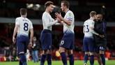 Tottenham Hotspur lolos ke semifinal Piala Liga dan menjaga peluang mengangkat trofi tersebut.(Reuters/Andrew Couldridge)