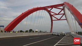 Jembatan Musi IV Palembang Beroperasi Awal Januari 2019