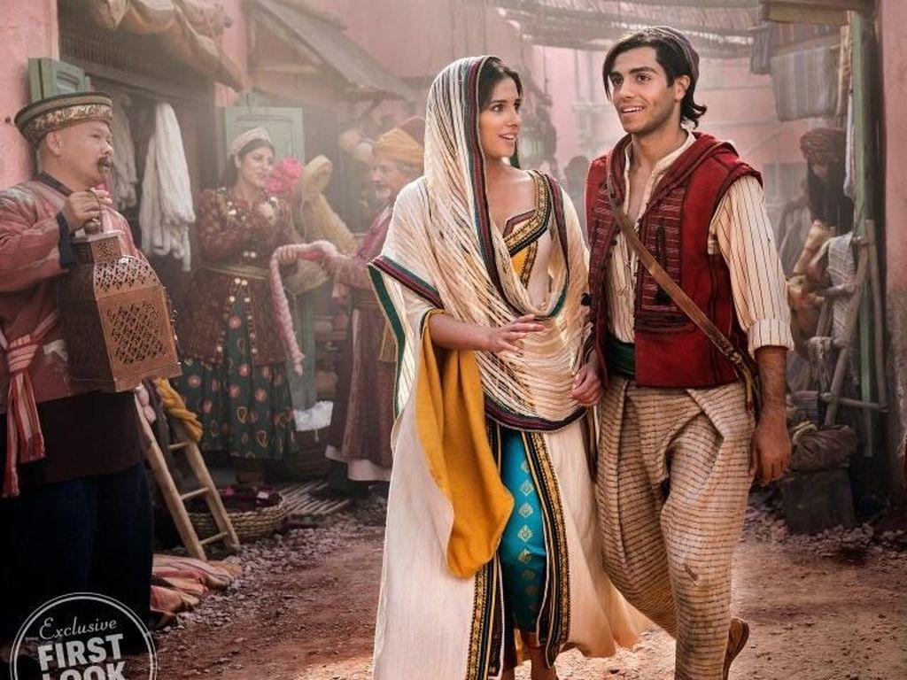 Perannya sebagai Putri Jasmine dalam film tersebut menuai banyak kontroversi. Dok. Daniel Smith/Disney