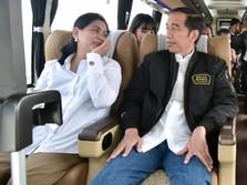 So Sweet! Jokowi: Terima Kasih Istriku, Iriana...