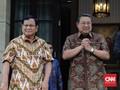 Prabowo dan SBY Tak Bicarakan Debat Pilpres Saat di Singapura