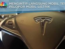 Menjajal Mewahnya Mobil Listrik Tesla Seri X 75D