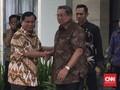Didampingi Djoko Santoso, Prabowo Beri Salam Hormat pada SBY