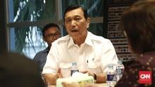Luhut: Kantor Presiden di Ibu Kota Baru Dibiayai APBN