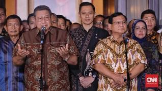 Nasib Mesin Politik Prabowo-Sandi kala SBY Absen Kampanye