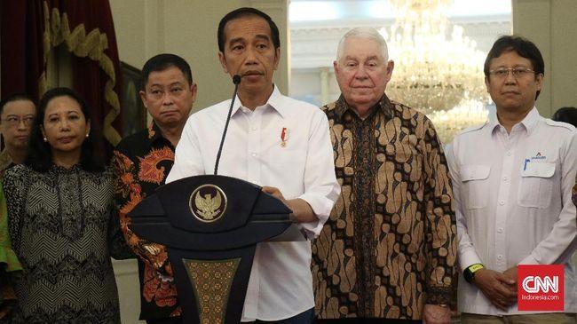 Cerita Jokowi Ambil Alih Freeport, Butuh Waktu 3,5 Tahun