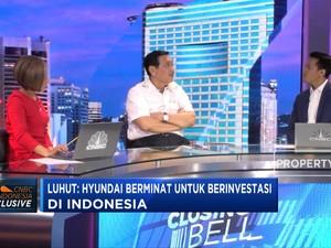 Menko Luhut Buka-bukaan Soal Investasi Hyundai di Indonesia