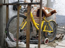 Startup China Bangkrut, 25 Juta Sepeda Jadi Rongsokan