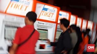 Tiket Kereta H-2 Lebaran dari Pasar Senen Habis Terjual