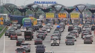 59 Ribu Kendaraan Belum Kembali ke Jakarta Usai Natal