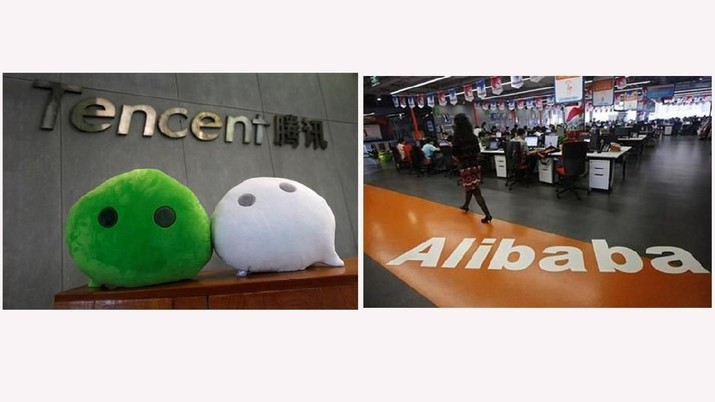 Alibaba dan Tencent gencar suntikkan dana ke startup Indonesia.