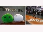 Perhatian! RI Jadi Medan Pertempuran Alibaba Vs Tencent