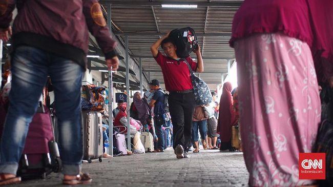 Pemudik Kereta DAOPS Bandung Naik 27 Persen