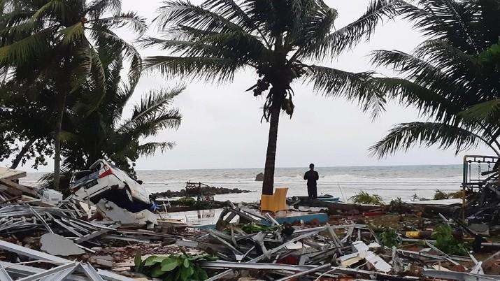 Asosiasi hotel sebut 9 hotel rusak berat akibat tsunami selat sunda, kerugian masih dihitung