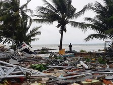9 Hotel Rusak Berat Akibat Tsunami Selat Sunda