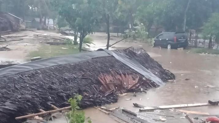 Begini Dahsyatnya Kerusakan Tsunami Selat Sunda