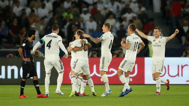 Kalahkan Al Ain 4-1, Real Madrid Juara Piala Dunia Antarklub
