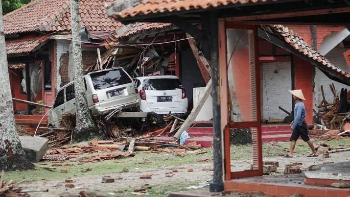 Kondisi Terkini Banten Pasca-Tsunami, Hancur & Porak Poranda