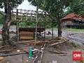 Puing Runtuhan dan Lumpur Hambat Evakuasi di Lampung Selatan