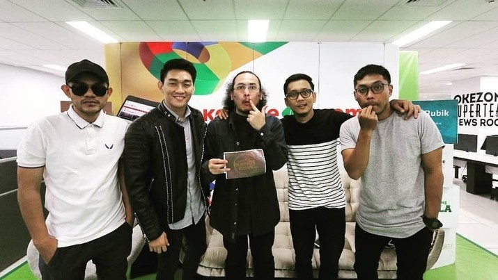 Isi Acara PLN, Band Seventeen Jadi Korban Tsunami di Banten