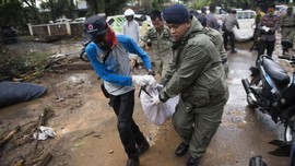 Korban Meninggal Tsunami Selat Sunda 426 Orang, 23 Hilang
