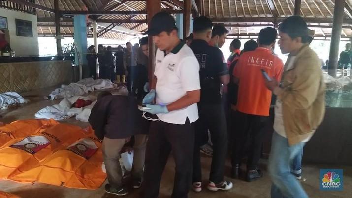 23 Tewas dan 65 Pegawai PLN Hilang Akibat Tsunami Selat Sunda