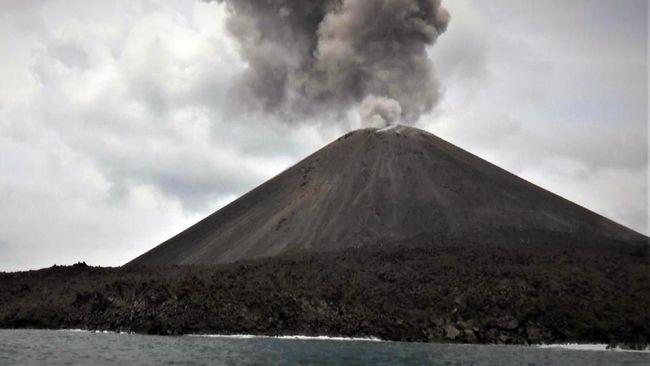 Anak Krakatau Siaga, Gempa Tremor Terjadi Terus Menerus