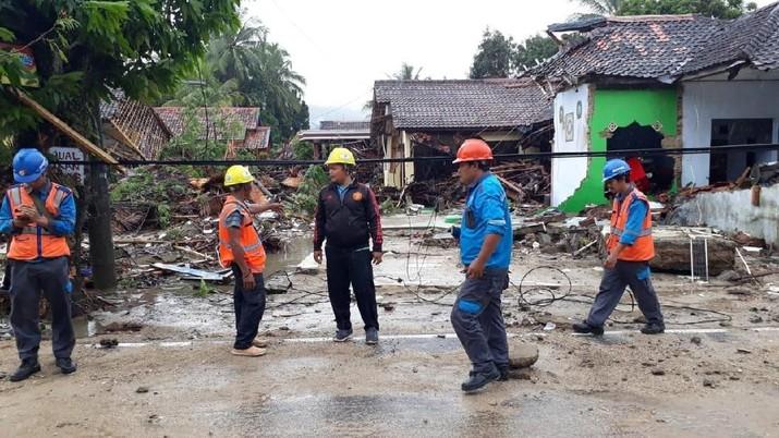 Dampak Tsunami: 102 Gardu Padam di Anyer