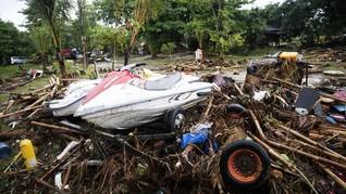 Kerugian Kawasan Pantai Tanjung Lesung Ditaksir Rp150 Miliar